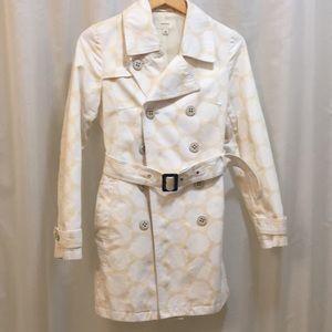 Polka Dot Button Jacket